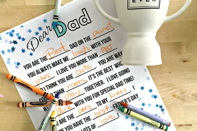 Last Minute Father's Day Gift Ideas & A Printable