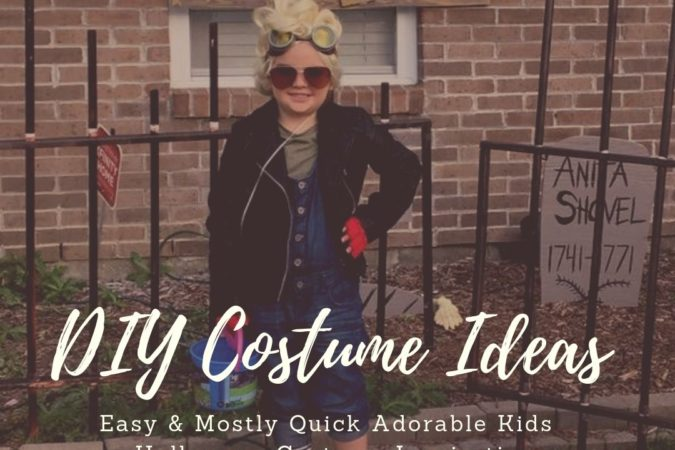 Favorite Easy & Mostly Quick DIY Costumes For Kids