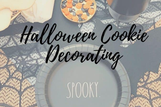 Ghostly Cookie Decorating Fun
