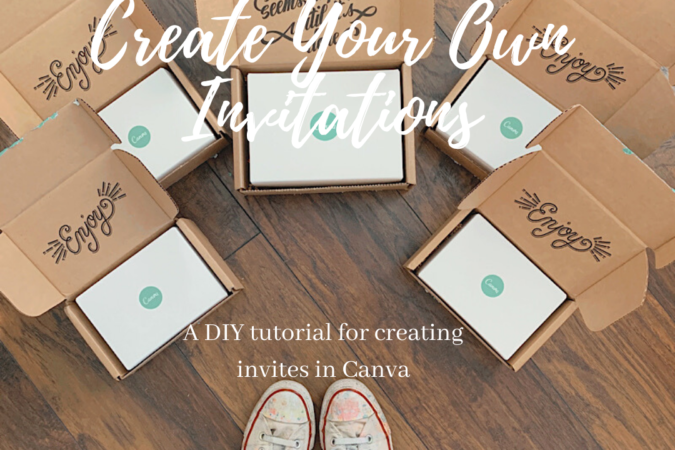 How to Make an Invitation in Canva