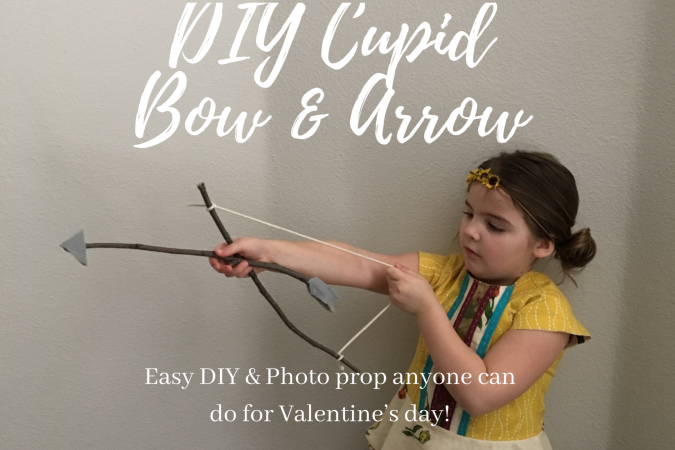 EASY Cupid's Bow & Arrow DIY