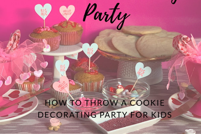 How to Throw a Kids Cookie Decorating Party