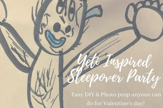 Yeti to Party – A Yeti Themed Sleepover Party
