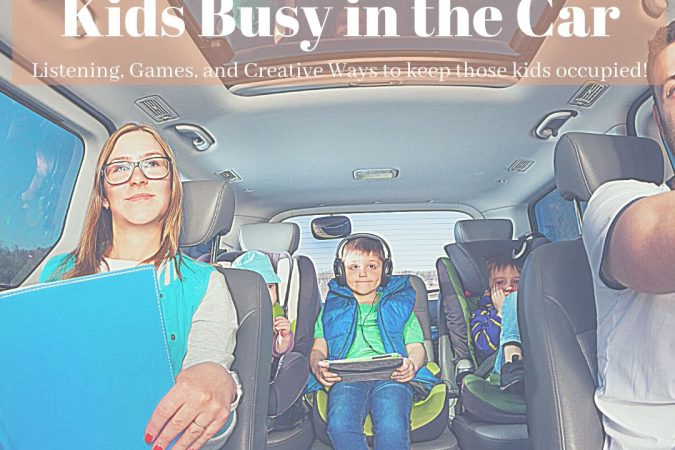 8 Ways to Occupy Your Kids in the Car