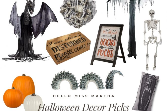 Favorite Halloween Home Decor